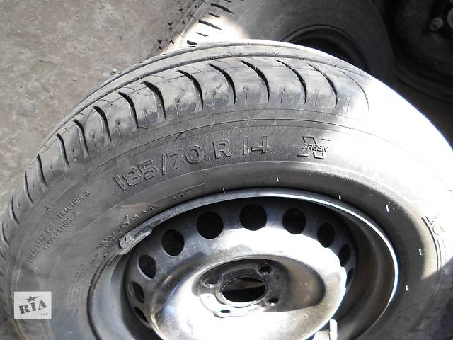 Б/у Колеса и шины Шины R14 Renault Kangoo РЕНО КАНГО Кенго 1,5 DCI К9К B802, N764 2008-2012- объявление о продаже  в Луцке