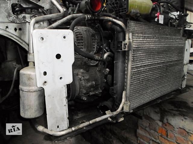 купить бу Б/у Комплект кондиционера, компрессор на Renault Kangoo2 Рено Канго Кенго 1,5DCI K9K 2008-2012 в Рожище