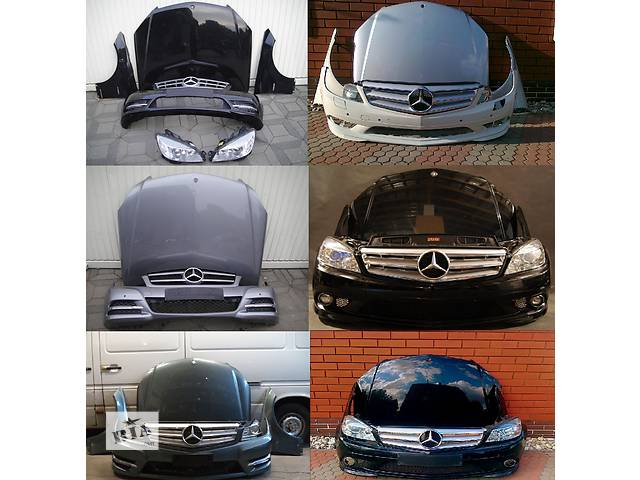 продам Б/у крыло переднее для легкового авто Mercedes C-Class w204 07-14 бу в Львове