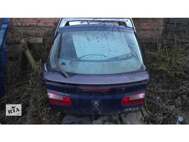 купить бу Б/у крышка багажника для хэтчбека Renault Laguna II в Львове