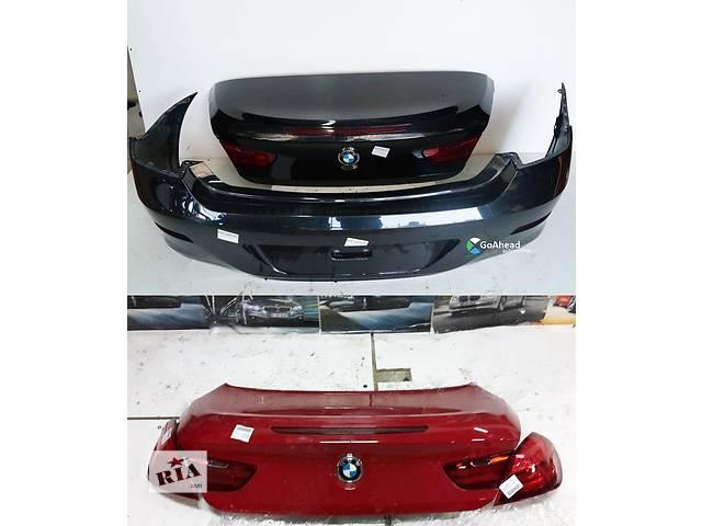 бу Б/у крышка багажника для легкового авто BMW 6 Series F12 F13 в Львове