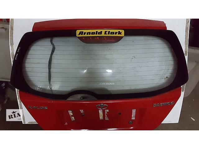 бу Б/у крышка багажника для легкового авто Chevrolet Aveo в Ровно