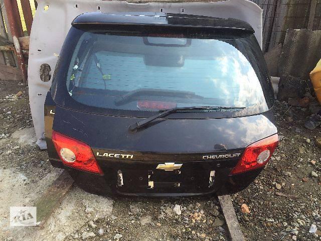 продам Б/у кришка багажника для легкового авто Chevrolet Lacetti Hatchback бу в Жовкве