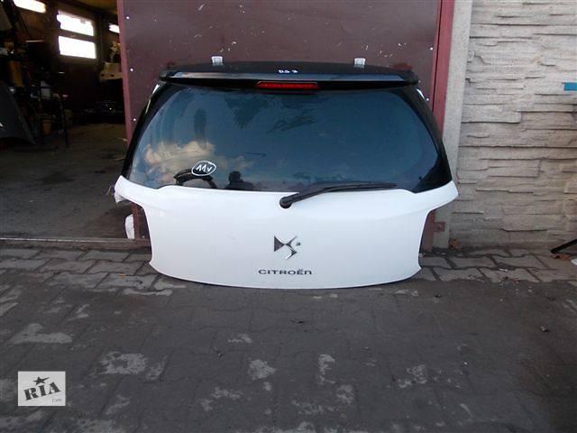 продам Б/у крышка багажника для легкового авто Citroen DS3 бу в Львове