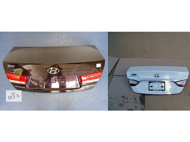 продам Б/у крышка багажника для легкового авто Hyundai Sonata бу в Львове