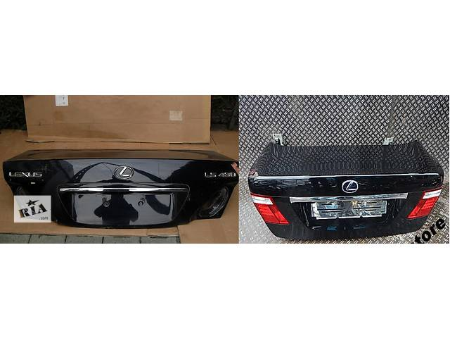 бу Б/у крышка багажника для легкового авто Lexus LS в Львове