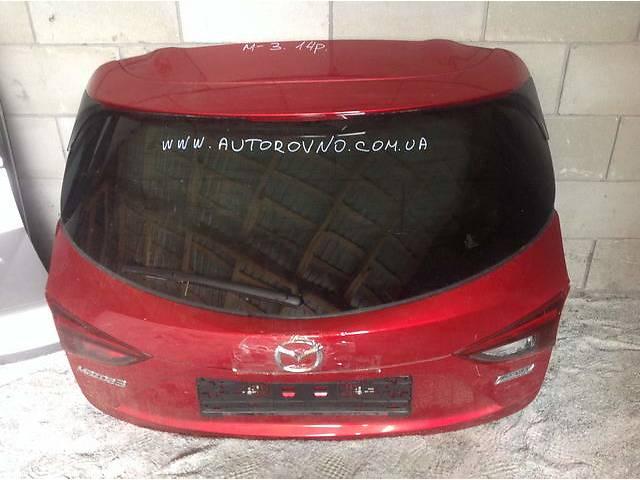 бу Б/у крышка багажника для легкового авто Mazda 3 в Ровно