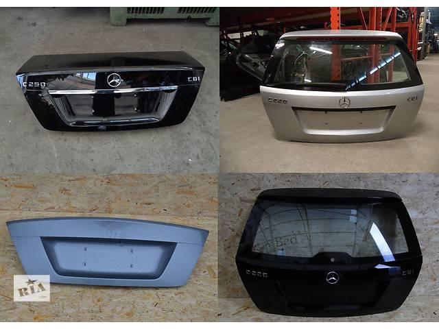 бу Б/у крышка багажника для легкового авто Mercedes C-Class w204 07-14 в Львове