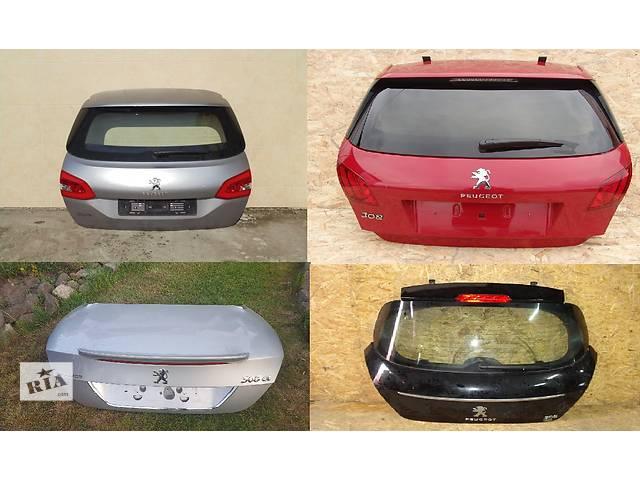 Б/у крышка багажника для легкового авто Peugeot 308- объявление о продаже  в Львове