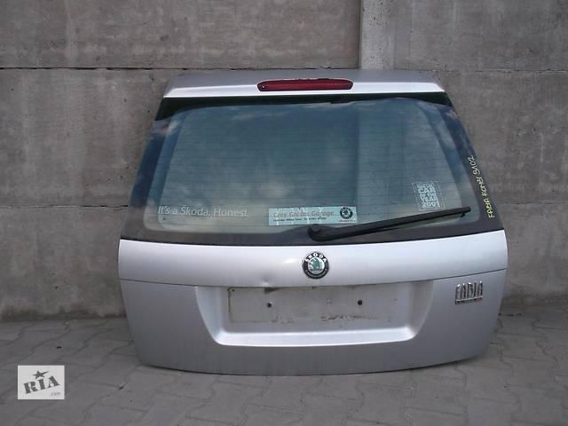 купить бу Б/у крышка багажника для легкового авто Skoda Fabia в Львове