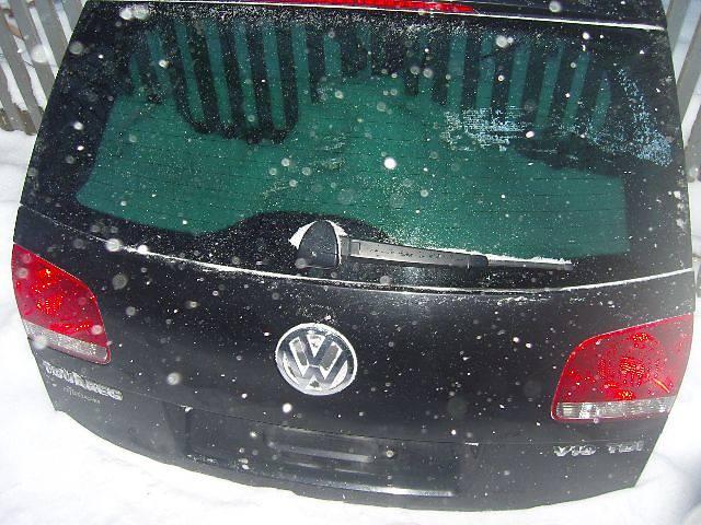 бу Б/у крышка багажника для легкового авто Volkswagen Touareg в Виннице