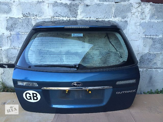 бу б/у Крышка багажника Хэтчбек Subaru Outback 2003-2007 в Львове