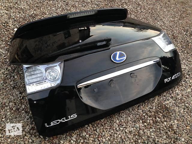 продам Б/у Крышка багажника Lexus RX 300 350 400 2004-2008 бу в Киеве