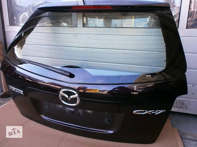 бу Б/у крышка багажника Mazda CX-7 в Киеве