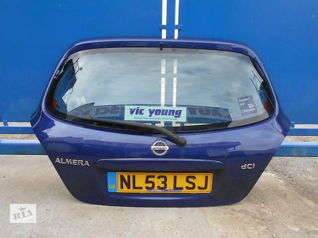 купить бу Б/у крышка багажника Nissan Almera Hatchback (5d) в Киеве