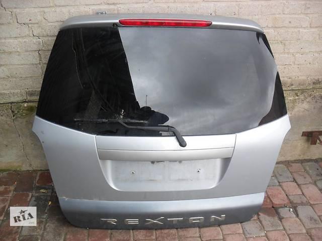 Б/у крышка багажника SsangYong Rexton II- объявление о продаже  в Киеве