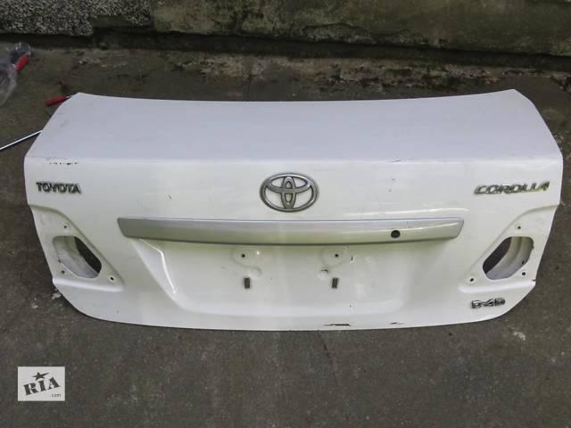 Б/у крышка багажника Toyota Corolla- объявление о продаже  в Киеве