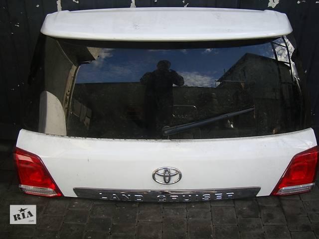бу Б/у крышка багажника Toyota Land Cruiser 200 в Киеве