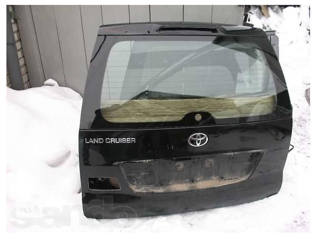 бу Б/у крышка багажника  Toyota Land Cruiser Prado 120 в Киеве
