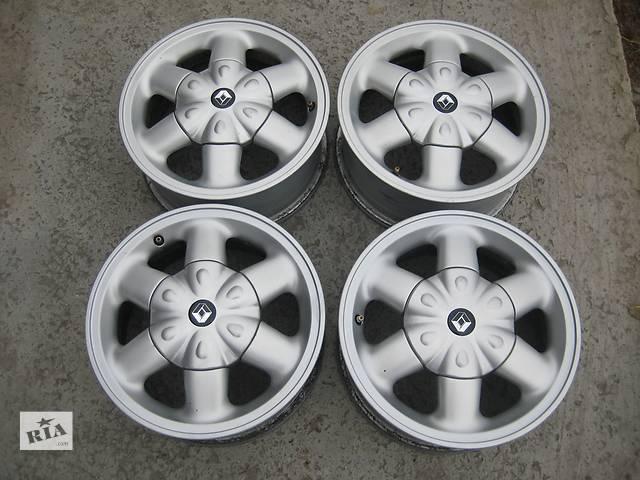 продам Б/у л/спл.диски для легкового авто Renault Logan,R14,6J*14,4*100,ET43,D=60,1 бу в Житомире