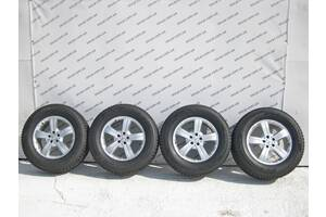 Б/У Mercedes Комплект дисков R18 8J H2 ET53 GL X164 A1644010602 с резиной  Hankook Winter I*Cept X 285/60 R18 116T