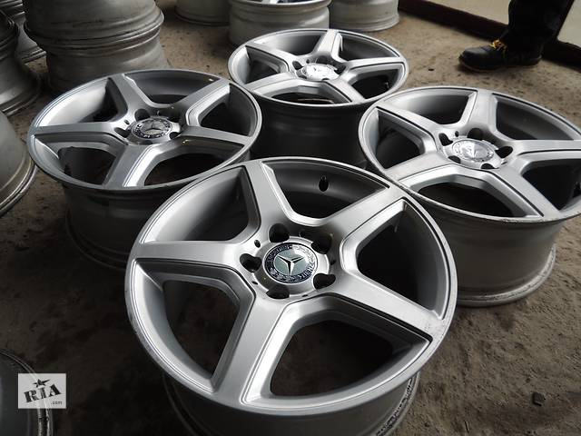 продам Б/у Mercedes R16 5x112 7.5 j et45 Vito W204 Мерседес Р16 VW Passat, Skoda Octavia Superb бу в Львове