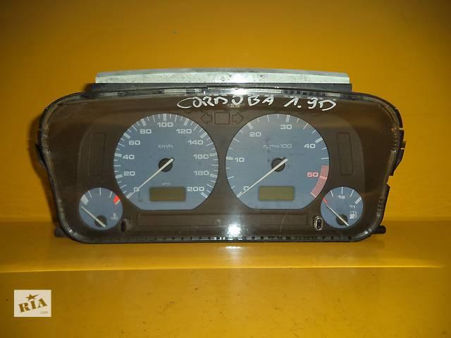 продам Б/у панель приборов/спидометр/тахограф/топограф для легкового авто Seat Cordoba (93-02) Diesel бу в Луцке