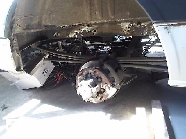 купить бу Б/у Поворотный кулак (левый, правый с ABS) Volkswagen Crafter Фольксваген Крафтер 2.5 TDI 2006-2010 в Рожище