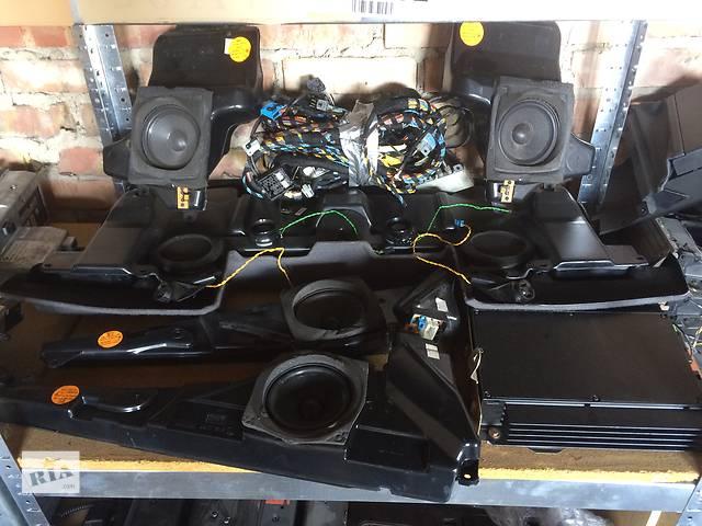 продам Б/у радио и аудиооборудование/динамики для седана BMW 5 Series (все) бу в Киеве