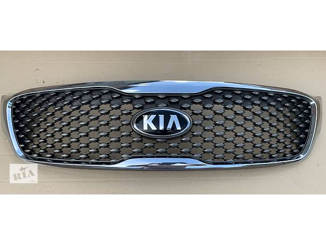 бу Б/у решетка радиатора для Kia Sorento Соренто 3 2014-2017 решітка радіатора решотка емблема не под камеру в наличии в Львове