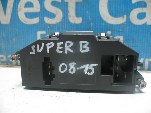 купить бу Б/У Резистор вентилятора обігрівача A3 2008 - 2015 3C0907521F. Лучшая цена! в Луцке