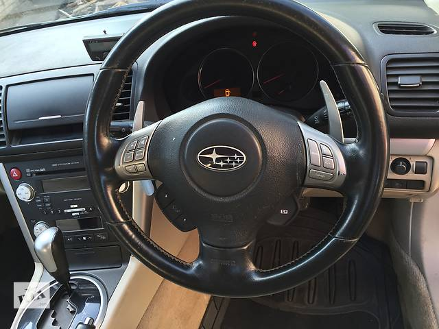 бу Б/у руль c подушкой и кнопками для седана Subaru Legacy в Днепре (Днепропетровск)