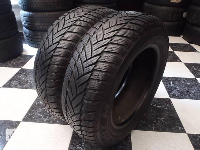 купить бу Б/у шины 2шт 195/65/R15 Dunlop Sp Winter Sport M3  195/65/15 в Кременчуге