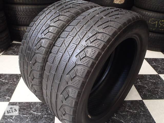 Б/у шины 2шт 215/55/R17 Pirelli SottoZero Winter 210 Serie 2 215/55/17- объявление о продаже  в Кременчуге