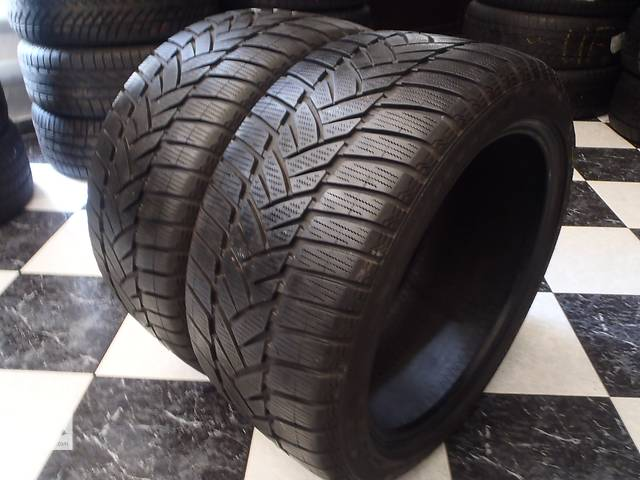 бу Б/у шины 2шт 245/40/R17 Dunlop Sp Winter Sport M3  245/40/17 в Кременчуге