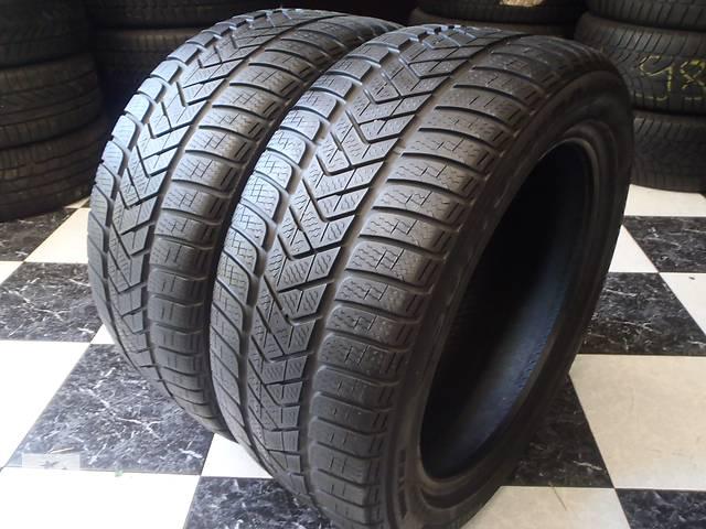 бу Б/у шины 2шт 245/45/R17 Pirelli SottoZero 3  245/45/17 в Кременчуге