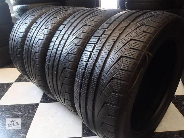купить бу Б/у шины 4шт 245/45/R17 Pirelli SottoZero Winter 210 Serie 2  245/45/17 в Кременчуге