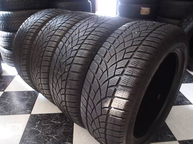 продам Б/у шины 4шт 245/50/R18 Dunlop Sp Winter Sport 3D Ran on Flat   245/50/18 бу в Кременчуге
