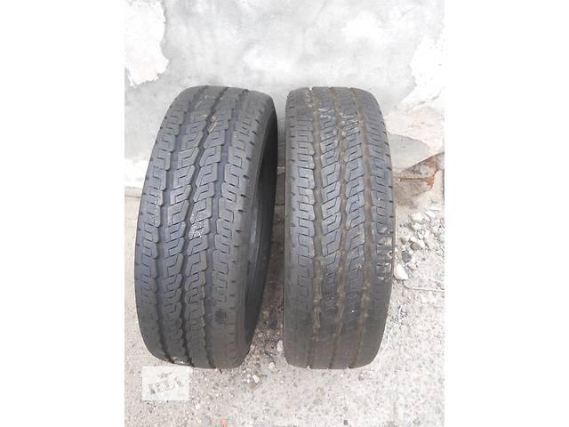 купить бу Б/у шины для легкового авто Резина летняя 215 65 R16C Continental 9 мм в Хмельницком
