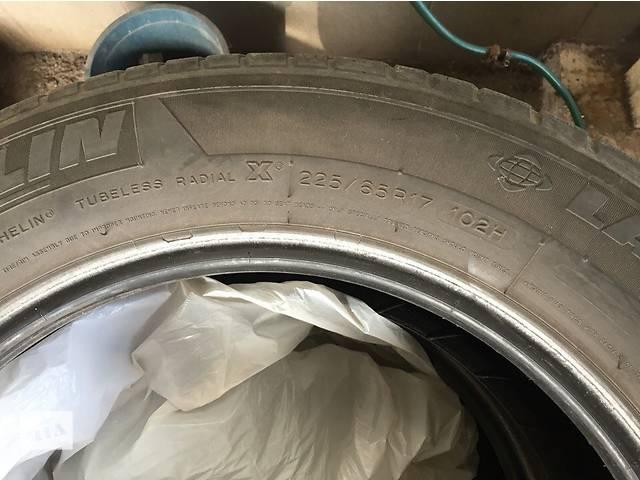 продам Б/у шины Michelin из Франции 225/65 R17 бу в Запорожье