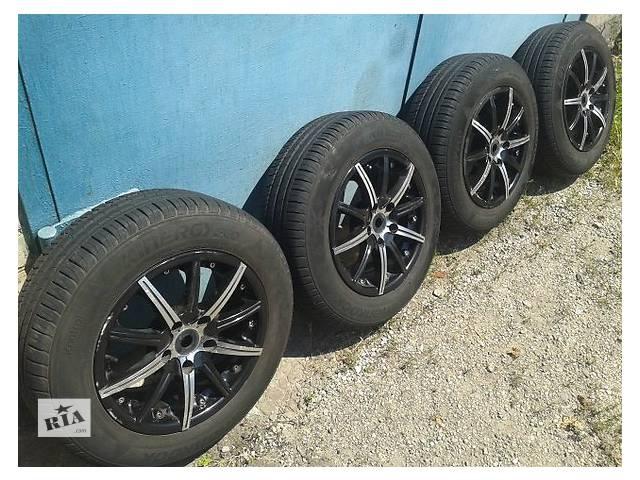 продам Б/у шины с дисками для легкового авто бу в Днепре (Днепропетровск)