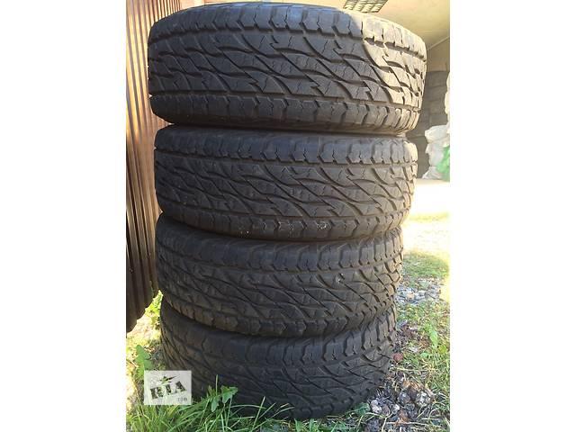 купить бу Б/у шиныШини Продам комплект резины Bridgestone Dueler 265/65 R17 112T. 697..практически Новый год 2014 пробек 4тис  в Киеве