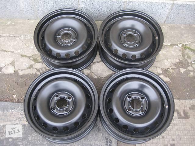 купить бу Б/у стал.диски для легкового авто Renault Megane-II,R15,6,5J*15,4*100,ET50,D=60,1 в Житомире