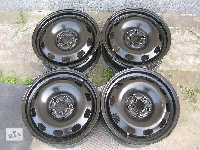 Б/у стал.диски для легкового авто Volkswagen Polo,R14,6J*14,5*100,ET38,D=57,1- объявление о продаже  в Житомире