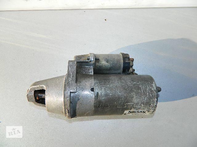продам Б/у стартер/бендикс/щетки для легкового авто Nissan Sunny N14 2.0 1990-1995г. бу в Киеве