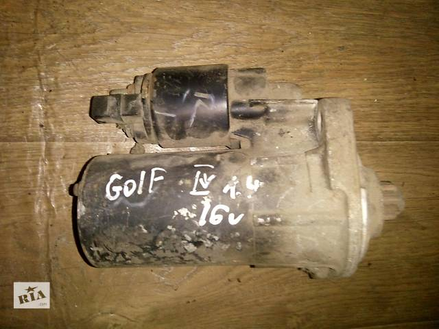 продам Б/у стартер для хэтчбека Volkswagen Golf IV 2000-2003г бу в Николаеве