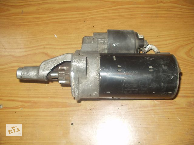 Б/у Стартер Skoda Super B , 2,5 TDI / Bosch / Germani , кат № 0001109021 , хорошее состояние , гарантия , доставка .- объявление о продаже  в Тернополе
