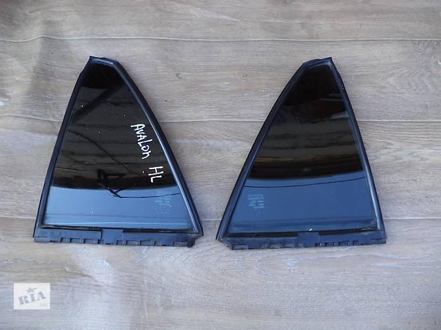 продам Б/у стекло двери глухое заднее правое 68123-07010 и левое 68124-07010 для седана Toyota Avalon 2006, бу в Николаеве
