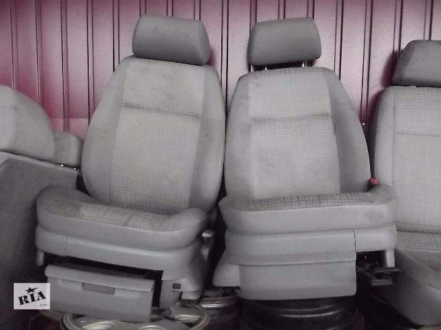 бу Б/у сиденье комплект переднее с подогревом для  Volkswagen Caddy в Ковелі