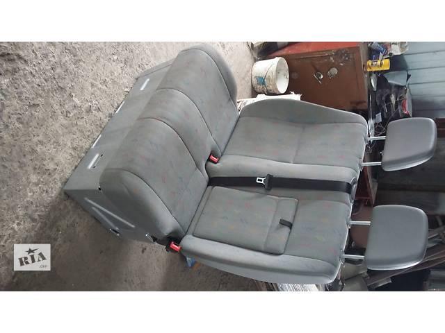 бу Б/у Сидіння 2-ка Сидушка Mercedes Sprinter906 Крафтер 06-12 в Луцке